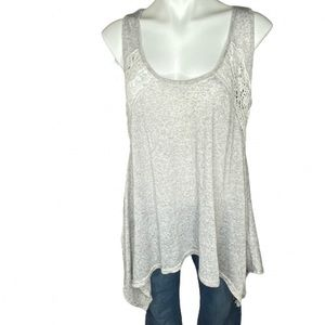 Anthropologie a'reve Lace Embroidered Top